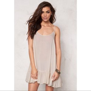 One Teaspoon Le Pure Pinky Dress Natural XS NWT